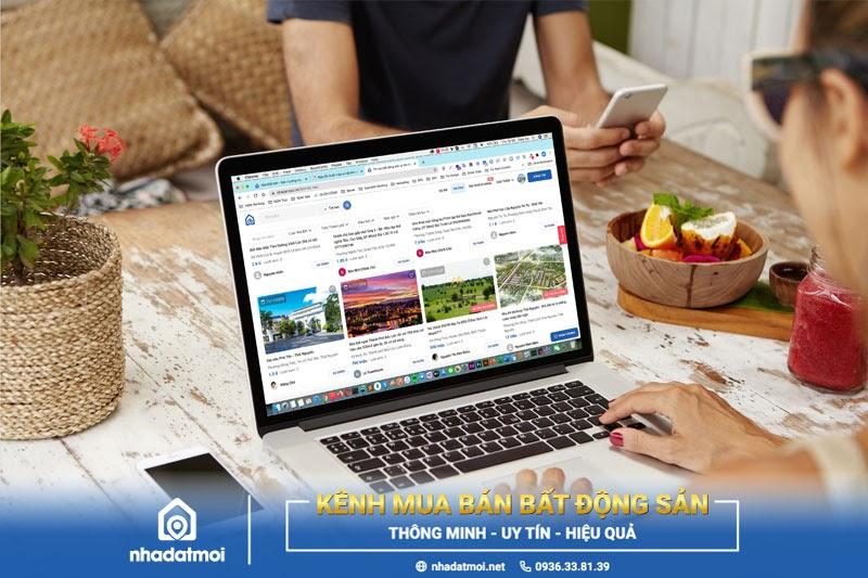 Nhà Đất Mới - Sàn thương mại điện tử bất động sản thông minh - uy tín - hiệu quả hàng đầu Việt Nam