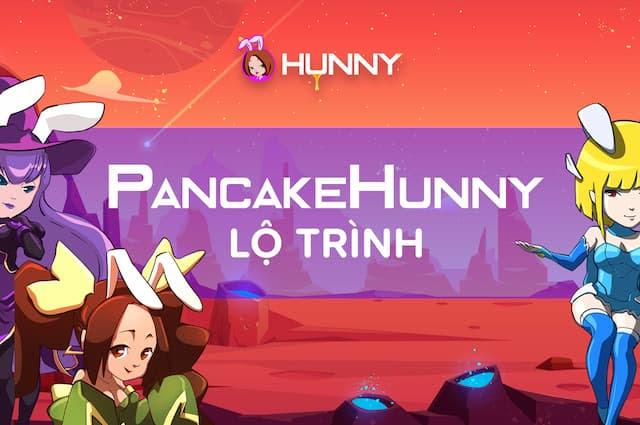 HunnyPlay được phân bổ thành nhiều phần khác nhau
